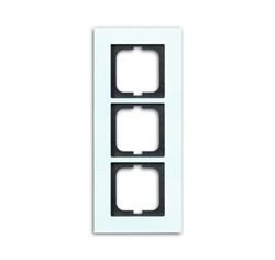 Рамка 3-поста, ABB carat® цвет Белый - фото 4595