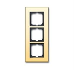 Рамка 3-поста, ABB carat® цвет бронза - фото 4597