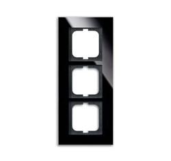Рамка 3-поста, ABB carat® цвет чёрный - фото 4598