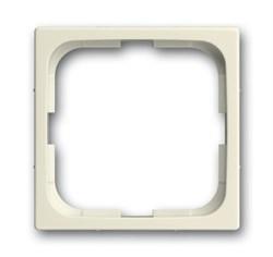 Рамка 1-пост, ABB carat® цвет слоновая кость - фото 4610