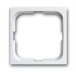 Рамка 1-пост, ABB carat® цвет белый - фото 4611