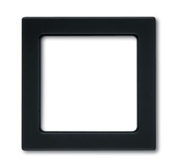 Рамка 1-пост, ABB carat® цвет антрацит - фото 4631