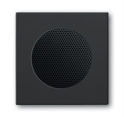 Плата центральная (накладка) для громкоговорителя 8223 U,ABB carat® серия future/solo, цвет антрацит - фото 4637