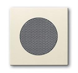 Плата центральная (накладка) для громкоговорителя 8223 U,ABB carat® серия future/solo, цвет слоновая кость - фото 4638