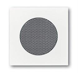 Плата центральная (накладка) для громкоговорителя 8223 U,ABB carat® серия future/solo, цвет Белый - фото 4639
