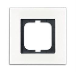Рамка 1-пост, ABB carat® цвет Белый - фото 4641