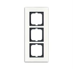 Рамка 3-поста, ABB carat® цвет Белый - фото 4643
