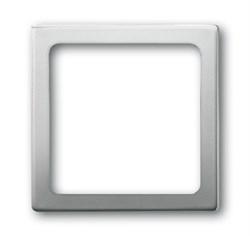 Рамка 1-пост, ABB pur edelstahl цвет сталь - фото 4648