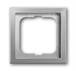 Рамка 1-пост, ABB pur edelstahl цвет сталь - фото 4650