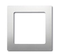 Плата центральная (накладка) для механизмов усилителей 8211 U, 8212 U, 8221 U, ABB pur edelstahl серия pur/сталь - фото 4662