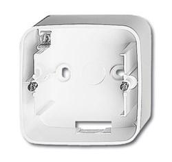 Коробка для открытого монтажа, 1 пост, ABB alpha цвет Белый - фото 4842