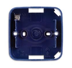 Коробка для открытого монтажа, 1 пост, ABB alpha цвет синий - фото 4843