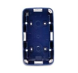 Коробка для открытого монтажа, 2 поста, ABB alpha цвет синий - фото 4846