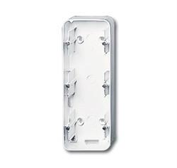 Коробка для открытого монтажа, 3 поста, ABB alpha цвет Белый - фото 4849