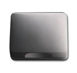 Крышка для розетки, ABB alpha цвет черный - фото 4965