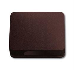 Крышка для розетки, ABB alpha цвет коричневый - фото 4974