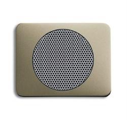Плата центральная (накладка) для громкоговорителя 8223 U, ABB alpha цвет коричневый - фото 5040