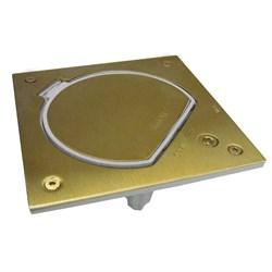Simon Connect Латунь Влагостойкая основа IP66 с замком на 1 модуль K45 (KSE0SEC-23-71) - фото 5063