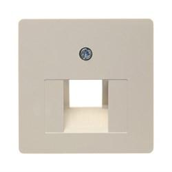 146802 Центральная плата для розетки UAE-DAT цвет: белый, с блеском Система центральных плат Berker - фото 5129