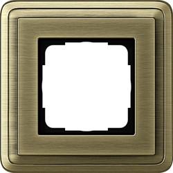 Рамка Gira ClassiX одноместная Бронза 0211621 - фото 5370