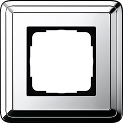 Рамка Gira ClassiX одноместная Хром 0211641 - фото 5376
