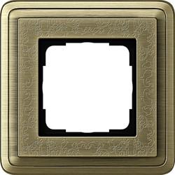 Рамка Gira ClassiX Art одноместная Бронза 0211661 - фото 5414
