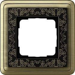 Рамка Gira ClassiX Art одноместная Бронза-Чёрный 0211662 - фото 5415
