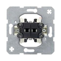 3035 Двухклавишный выключатель  Модульные механизмы Berker - фото 5753