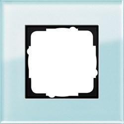 Рамка 1-пост, Gira Esprit Салатовое стекло 021118 - фото 5829