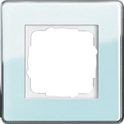Рамка 1-пост, Gira Esprit Glass C салатовое стекло 0211518 - фото 5833