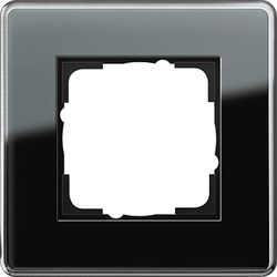 Рамка 1-пост, Gira Esprit Glass C черное стекло 0211505 - фото 5835
