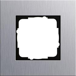 Рамка 1-пост, Gira Esprit Алюминий 021117 - фото 5837