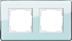 Рамка 2-пост, Gira Esprit Glass C салатовое стекло 0212518 - фото 5848