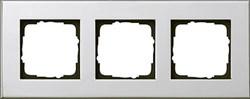 Рамка 3-пост, Gira Esprit Хром 021310 - фото 5869