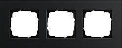 Рамка 3-пост, Gira Esprit Алюминий черного цвета 0213126 - фото 5871