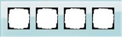 Рамка 4-пост, Gira Esprit Салатовое стекло 021418 - фото 5874