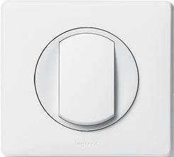Рамка одноместная Legrand Celiane Белая - фото 5900