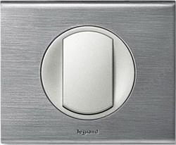 Рамка одноместная Legrand Celiane Фактурная сталь - фото 5992