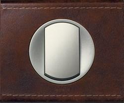 Рамка одноместная Legrand Celiane Кожа коричневая - фото 6019