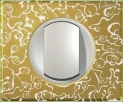 Рамка одноместная Legrand Celiane Фарфор-золотая феерия - фото 6050