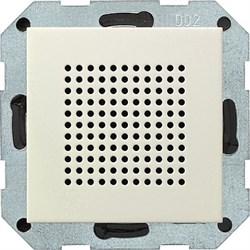 Динамик для радиоприемника скрытого монтажа с функцией RDS Gira System 55 Кремовый - фото 6584