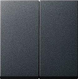 Двухклавишный выключатель с самовозвратом в сборе Антрацит (012528) - фото 6612