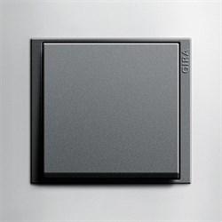 Рамка 2-поста для центральных вставок антацит, Gira Event Темно-коричневый - фото 7268