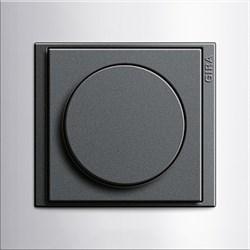 Рамка 2-поста для центральных вставок антацит, Gira Event Темно-коричневый - фото 7272