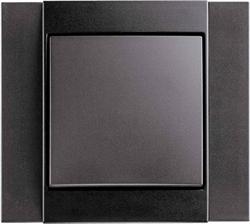 Рамкa 1-пост, Berker B.1 цвет: антрацит, матовый 10111606 - фото 9185