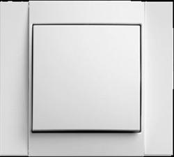 Рамкa 1-пост, Berker B.1 цвет: Белый , матовый 10111909 - фото 9186