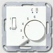 Накладка регулятора теплого пола(мех.FTR231U) Jung A500 Белый aftr231plww