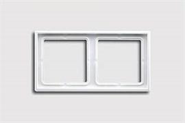 Рамка двойная, для горизонтального/вертикального монтажа Jung LS 990 Белый LS982ww