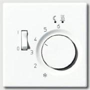 Накладка регулятора теплого пола(мех.FTR231U) Jung LS 990 Белый LSFTR231PLWW