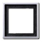 Рамка одинарная Jung LS Aluminium Алюминий al2981